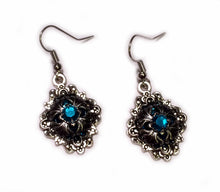 Load image into Gallery viewer, Gothic Filigree Caged Earrings