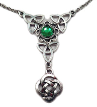 Load image into Gallery viewer, Celtic Trinity Knot Necklace