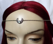 Load image into Gallery viewer, Simple Moon Priestess Headpiece