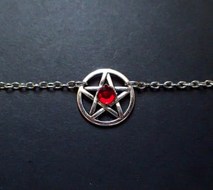 Small Pentacle Priestess Headpiece