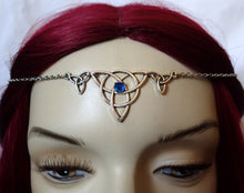 Load image into Gallery viewer, Celtic Triquetra Headpiece
