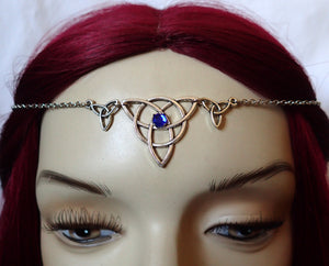 Celtic Triquetra Headpiece