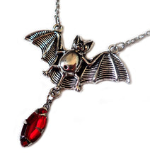 Load image into Gallery viewer, Vampire Bat Necklace
