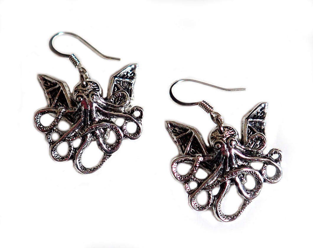 Cthulhu Earrings