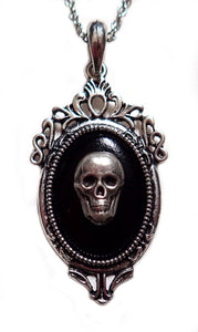 Silver Framed Cameo Pendant