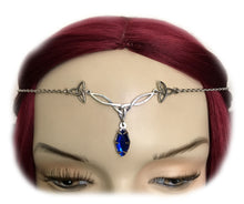 Load image into Gallery viewer, Celtic Triquetra Trinity Knot Headpiece
