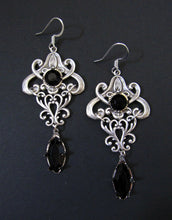 Load image into Gallery viewer, Art Nouveau Filigree Earrings