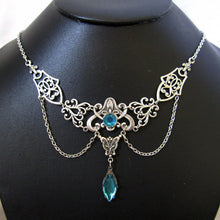 Load image into Gallery viewer, Art Nouveau Filigree Necklace