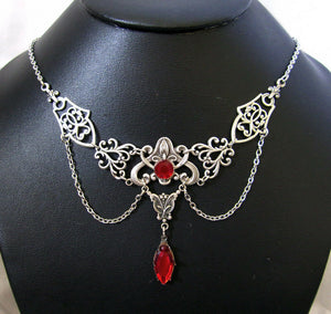 Art Nouveau Filigree Necklace