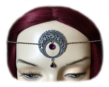 Load image into Gallery viewer, Large Crescent Moon Headpiece