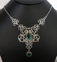 Load image into Gallery viewer, Celtic Filigree Necklace