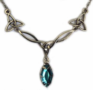 Celtic Triquetra Trinity Knot Necklace