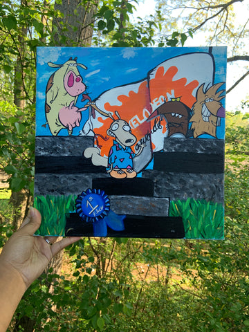 """First Place"" Canvas"