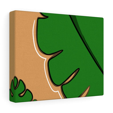 """Monster Monstera"" Canvas Gallery Wraps Print"
