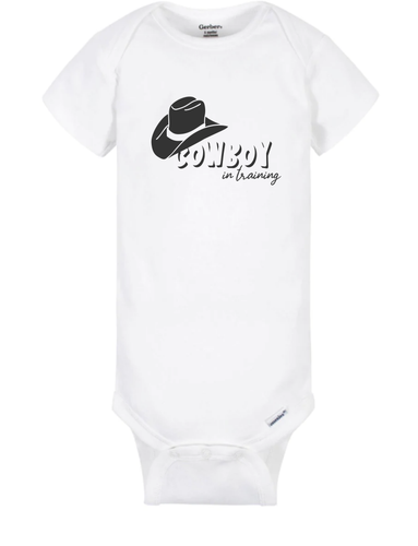 Cowboy in Training - Onesie Blue
