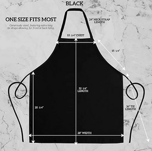 Grillin' & Chillin' Apron - Great Gift - Commercial Grade