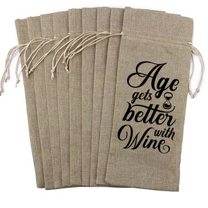 Wine Bag - Age Gets Better with Wine