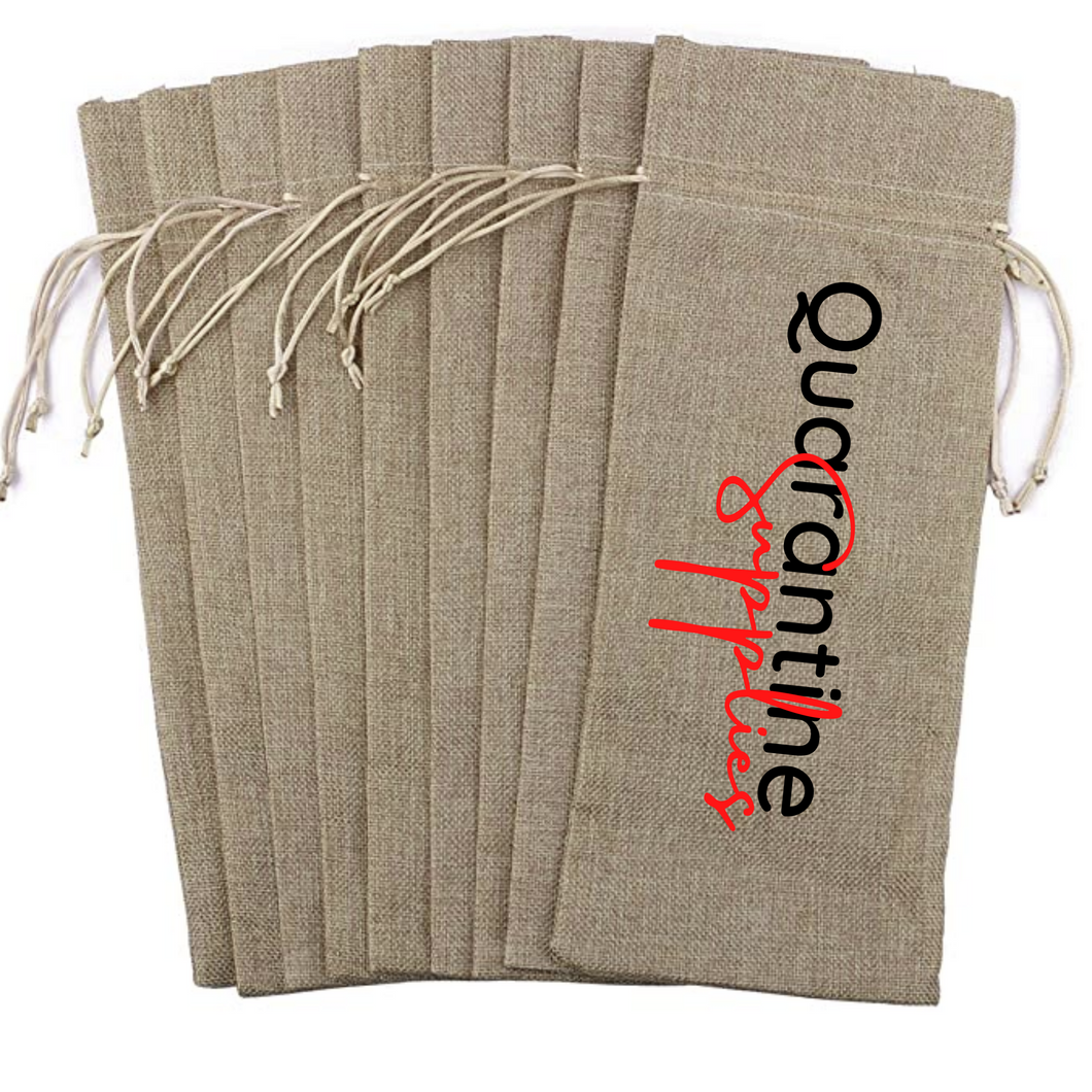 Wine Bag - Quarantine Supplies