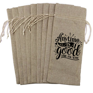 Wine Bag - Anytime is a Good Time to Wine