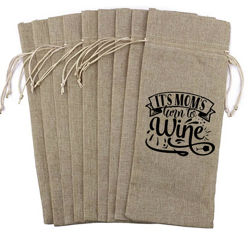 Wine Bag - It's Mom's Turn to Wine