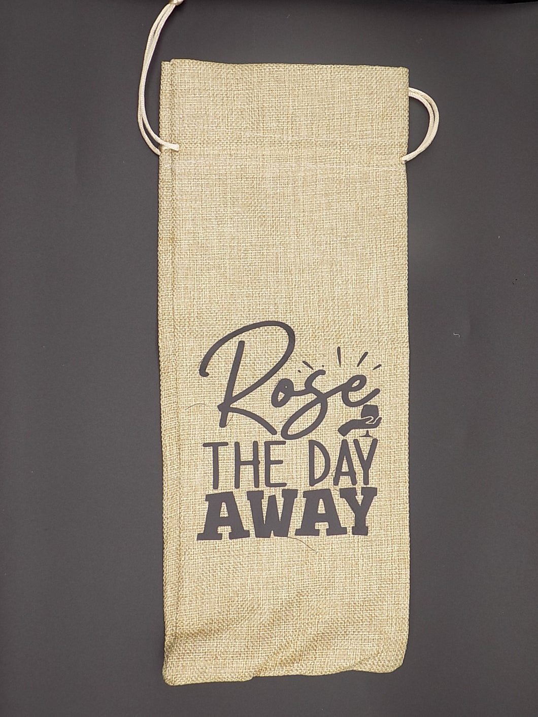 Wine Bag - Rose' the Day Away