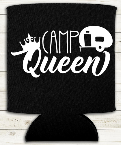 Camp Queen - Can Cooler Koozie