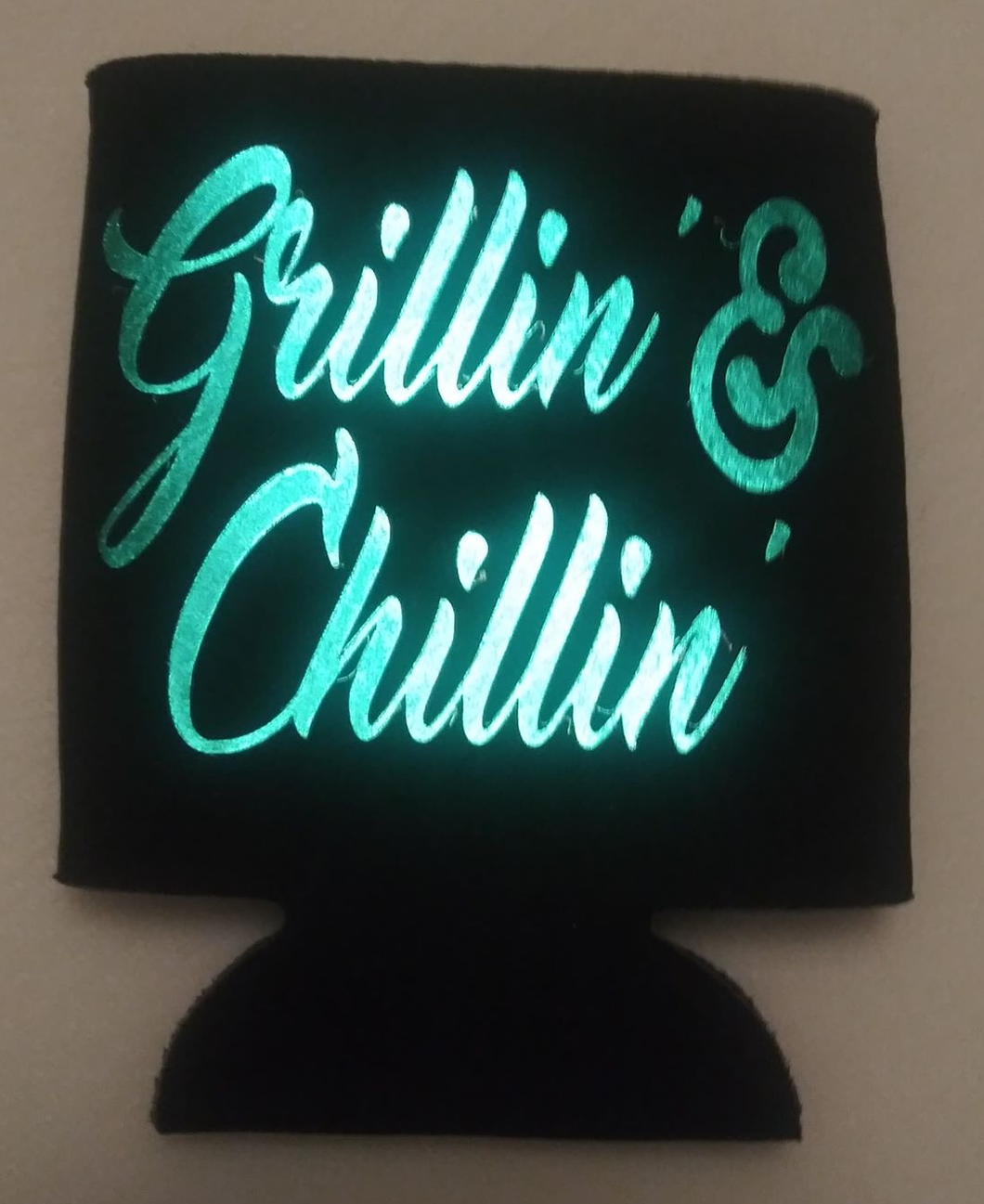 Grillin' & Chillin' - Can Cooler Koozie
