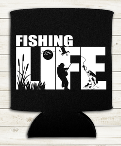 Fishing Life - Can Cooler - Koozie