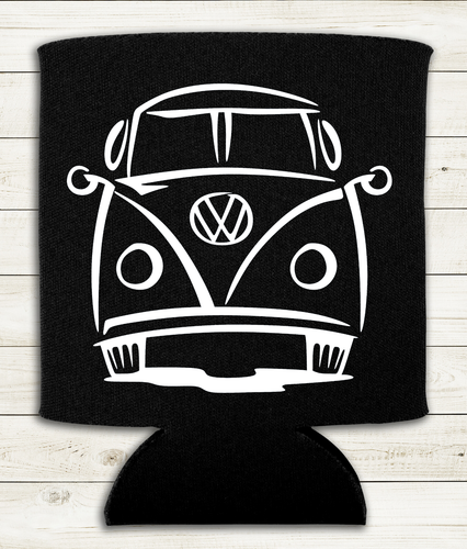 VW Split Window Bus - Can Cooler Koozie