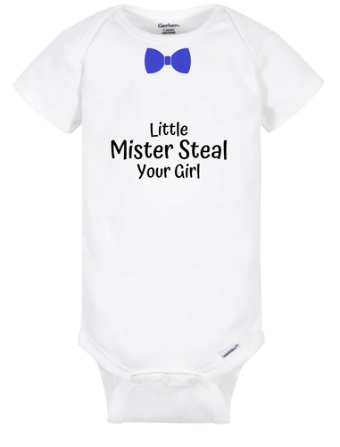 Little Mister Steal Your Girl - Onesie