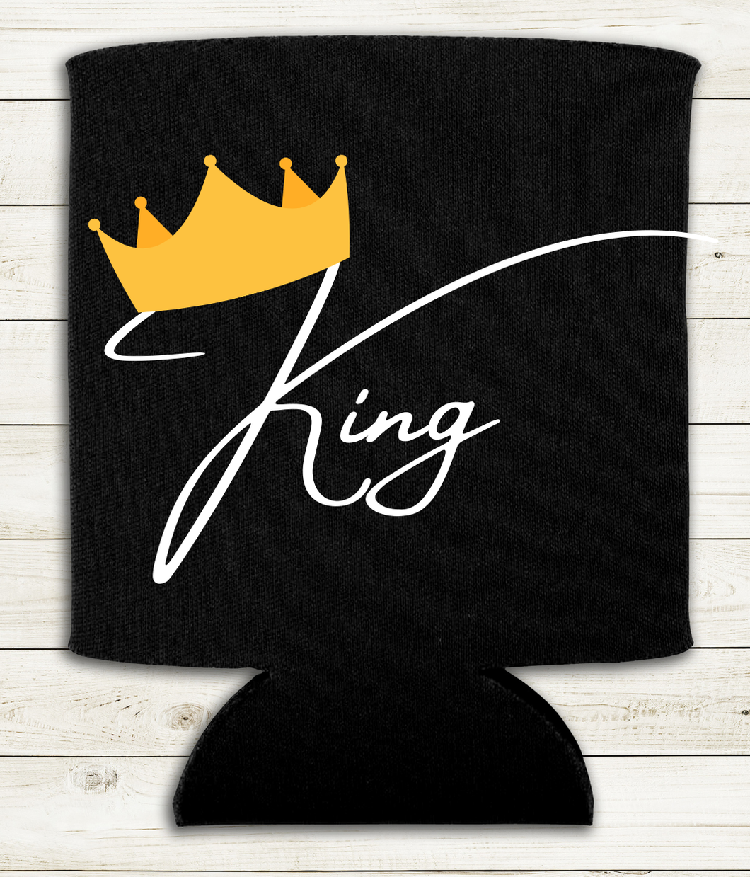 King - Can Cooler Koozie
