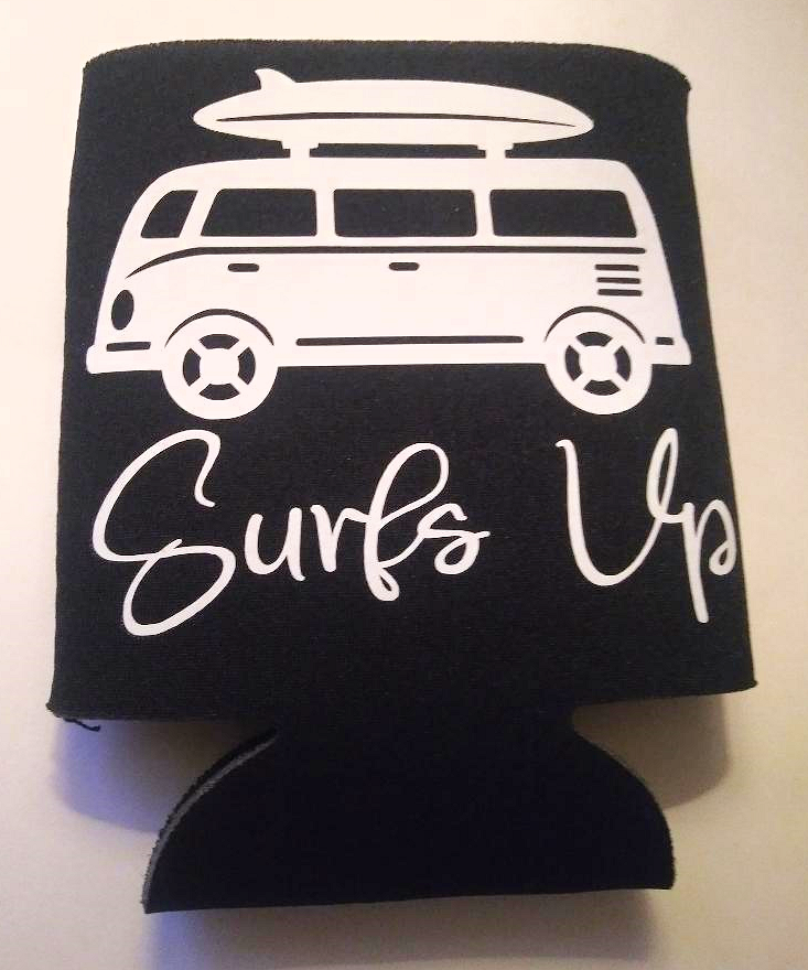 Surfs Up - Can Cooler Koozie