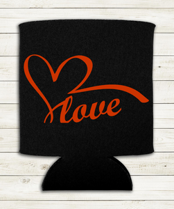 Love - Can Cooler Koozie