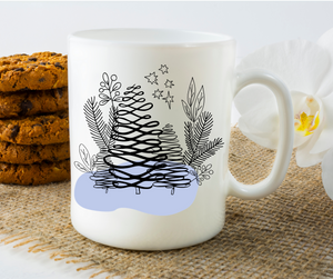 Winter Tree Scene  - 11oz. Mug