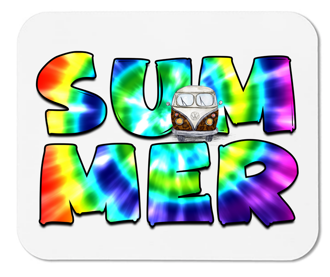 Tie Dye Summer - Mouse Pad