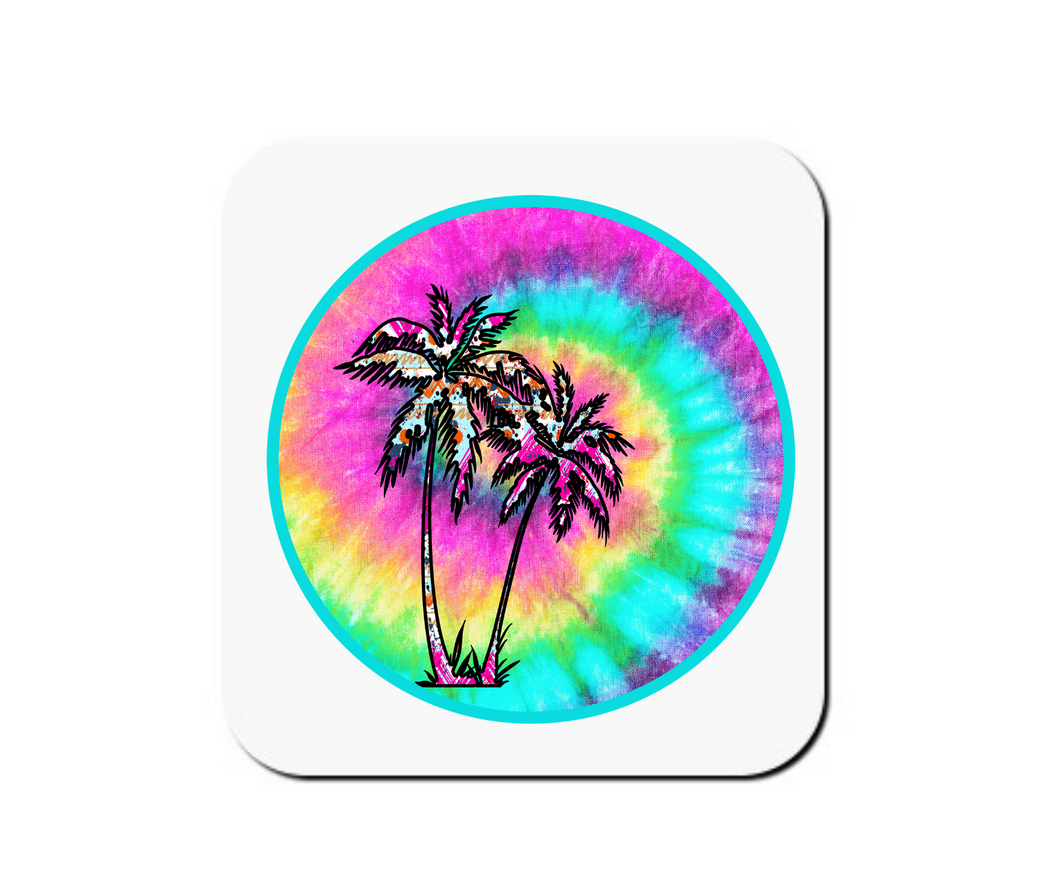 Tie Dye Beach - Set of 4 Coasters