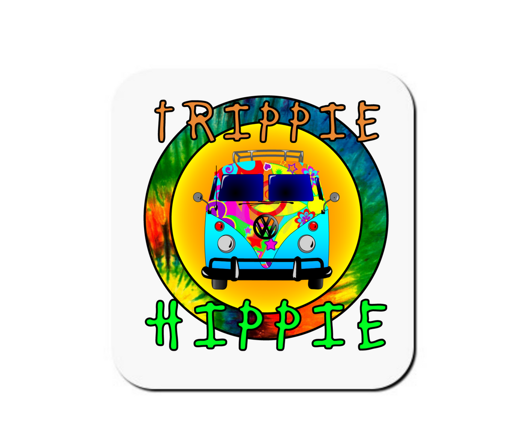 Trippie Hippie - Set of 4 Coasters
