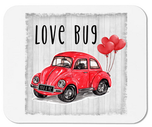 Love Bug - VW Beetle - Mouse Pad