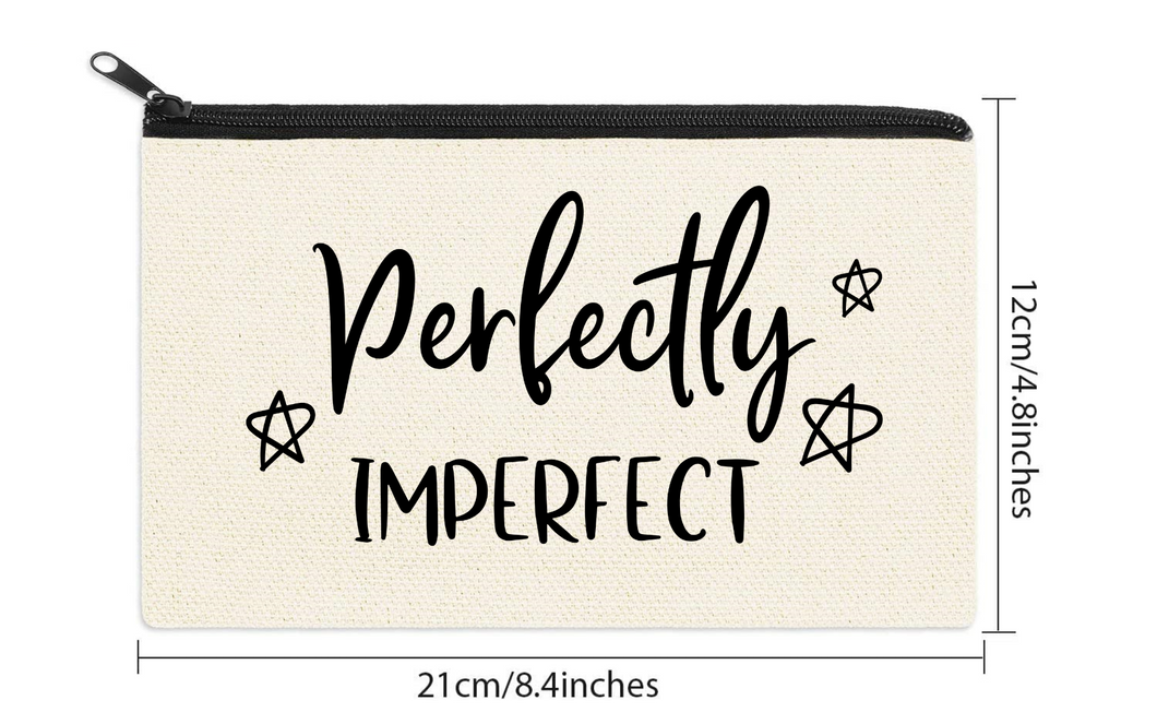 Perfectly Imperfect Cosmetic Bag