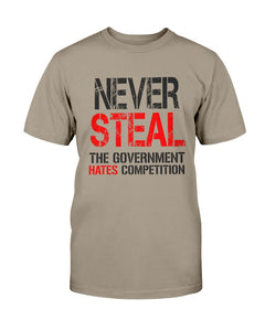Never Steal the Government Hates Competition