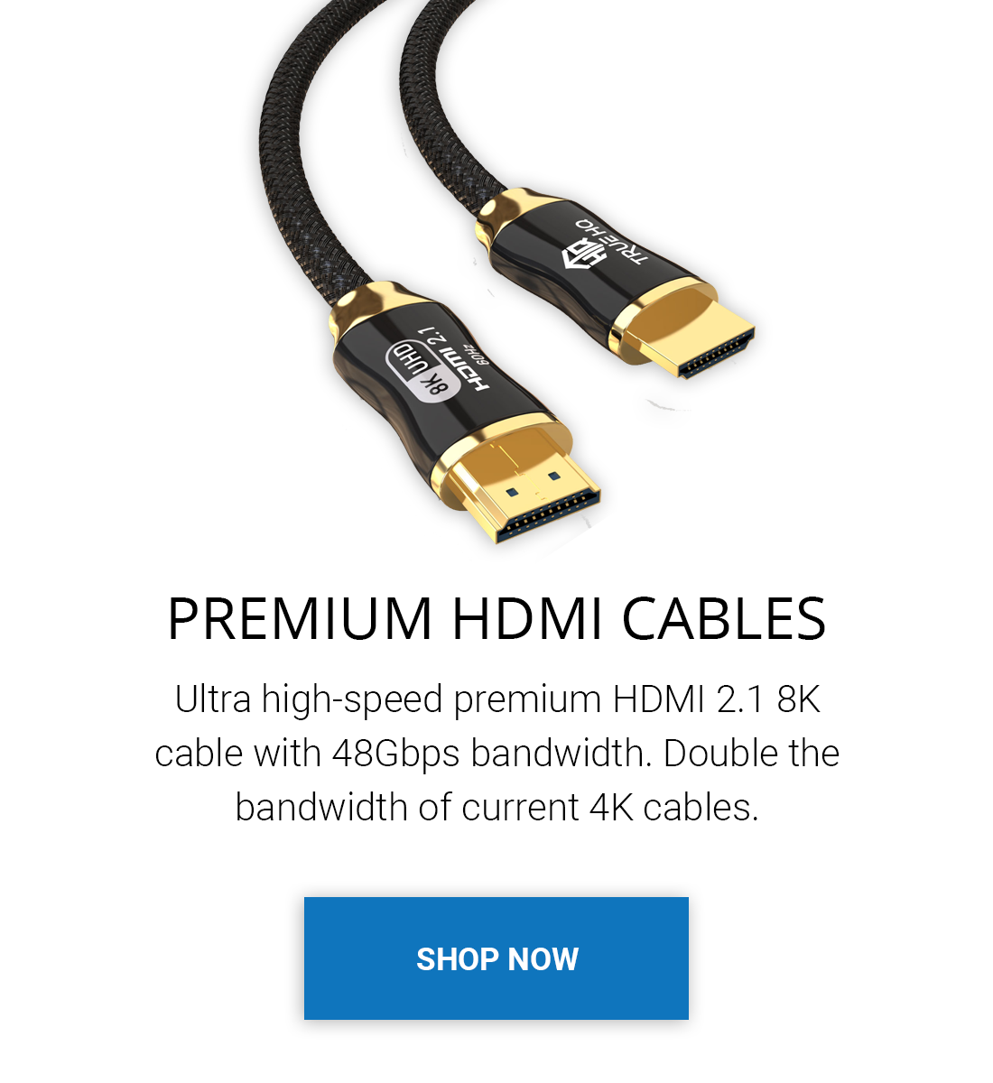 Buy premium hdmi cables 4k hdr. Ultra High Speed HDMI 2.1 Cable 48Gbps. Best quality. Dynamic HDR, 8K, 4K, Certified, OLED TV, Sky, Virgin, braided jacket. Free UK Shipping