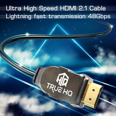 3M HDMI 2.1 Cable 8K 48Gbps by True HQ™