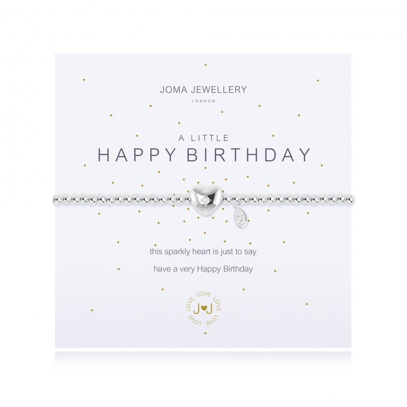 JOMA JEWELLERY - A LITTLE HAPPY BIRTHDAY BRACELET