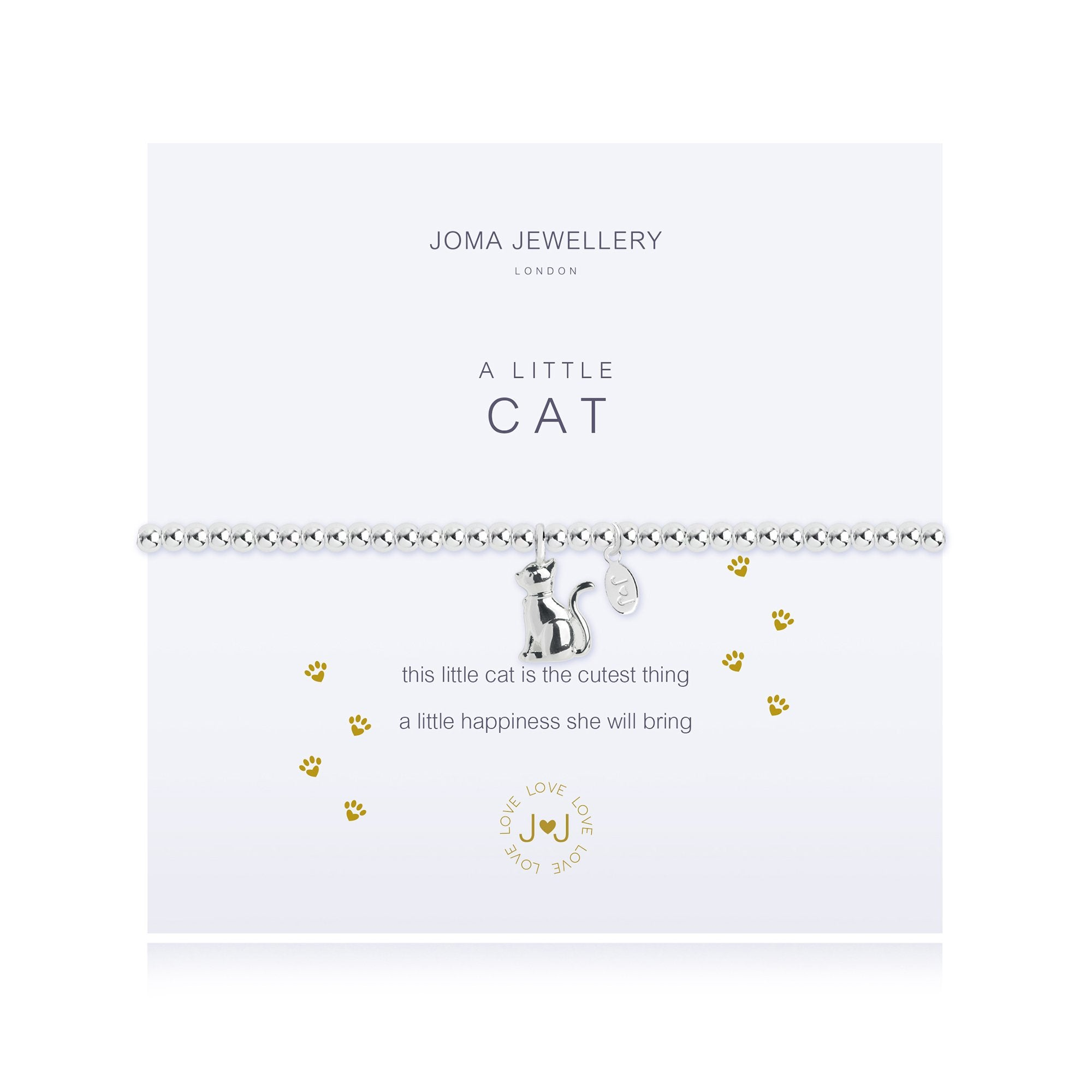 Joma Jewellery - A Little Cat Bracelet