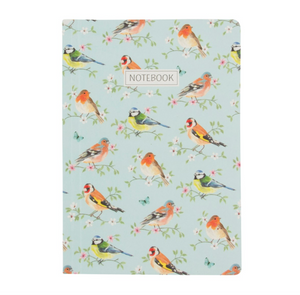 Garden Birds A5 Notebook