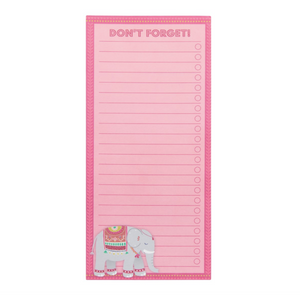 Magnetic Elephant Notepad