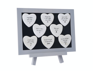 Stone Heart Sentiment Magnets - 8 Designs