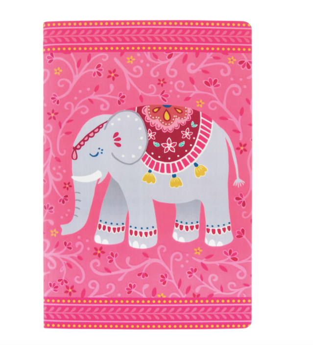 Sass and Belle Mandala Elephant Notebook