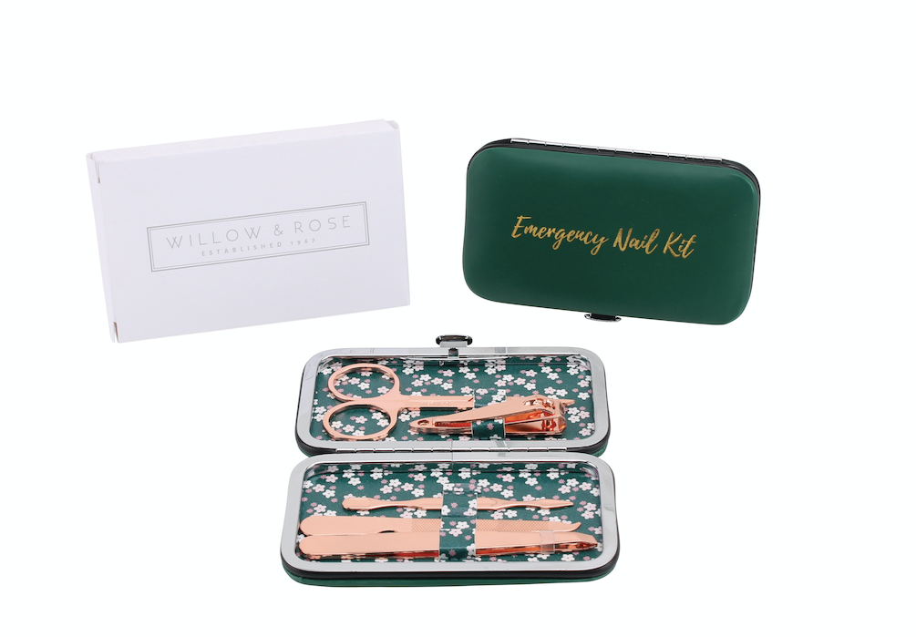 Willow and Rose 'Emergency Nail Kit' Manicure Set