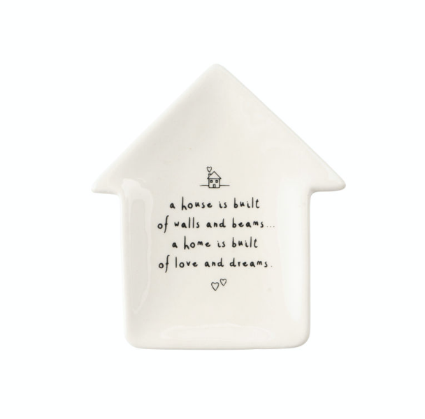 House Sentiment Ring Dish
